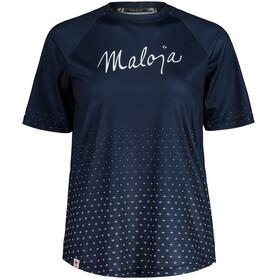 Maloja HaslmausM. Multi 1/2 Short Sleeve Multisport Jersey Women, niebieski